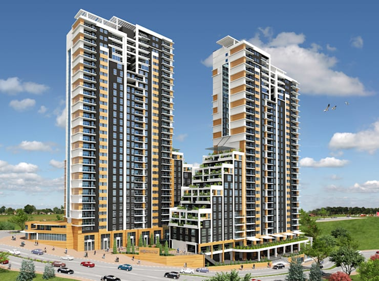 CCT INVESTMENTS – CCT 141 Project in Bahcesehir: modern tarz Evler