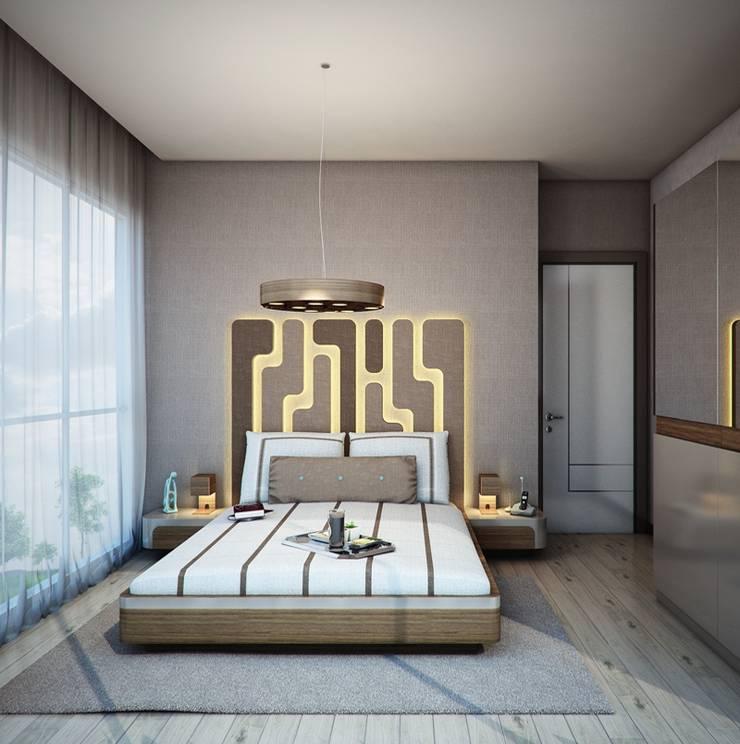 CCT INVESTMENTS – CCT 143 Project in Gunesli:  tarz Yatak Odası, Modern