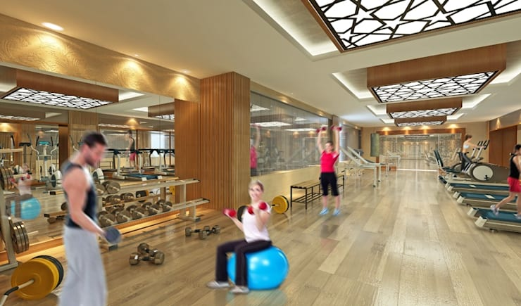 CCT INVESTMENTS – CCT 144 Project in Beylikduzu:  tarz Fitness Odası