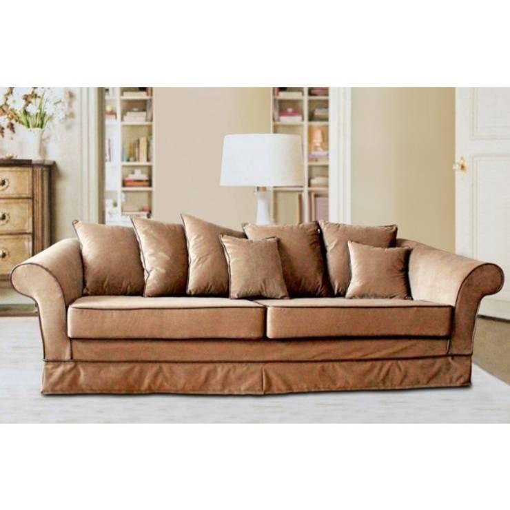 Stylowa sofa Bristol III: styl , w kategorii  zaprojektowany przez onemarket.pl,Klasyczny