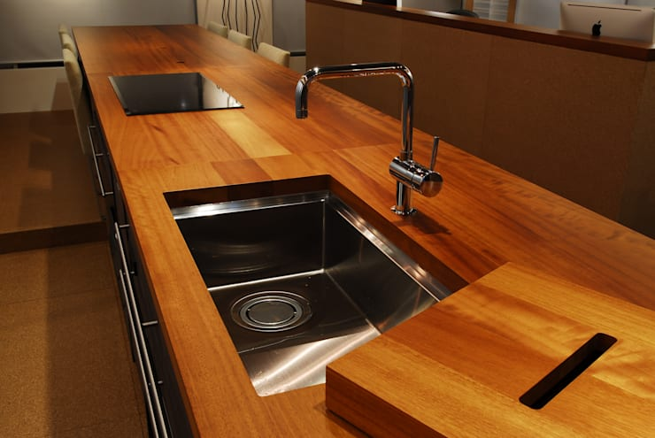 Projekty,  Kuchnia zaprojektowane przez ミズタニ デザイン スタジオ