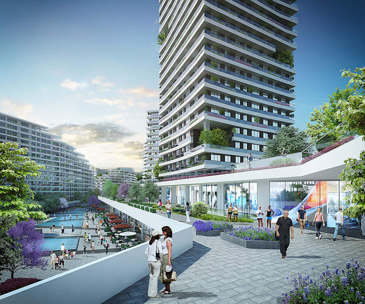 CCT INVESTMENTS – CCT 157 Project in Bahcesehir:  tarz Evler