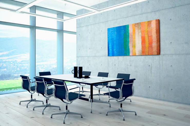 acrylbilder gem lde in orange von kunstloft homify. Black Bedroom Furniture Sets. Home Design Ideas