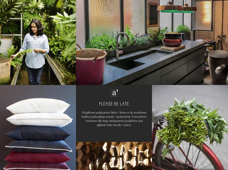 A'miou: kolekcja Please be Late: styl , w kategorii Jadalnia zaprojektowany przez onemarket.pl