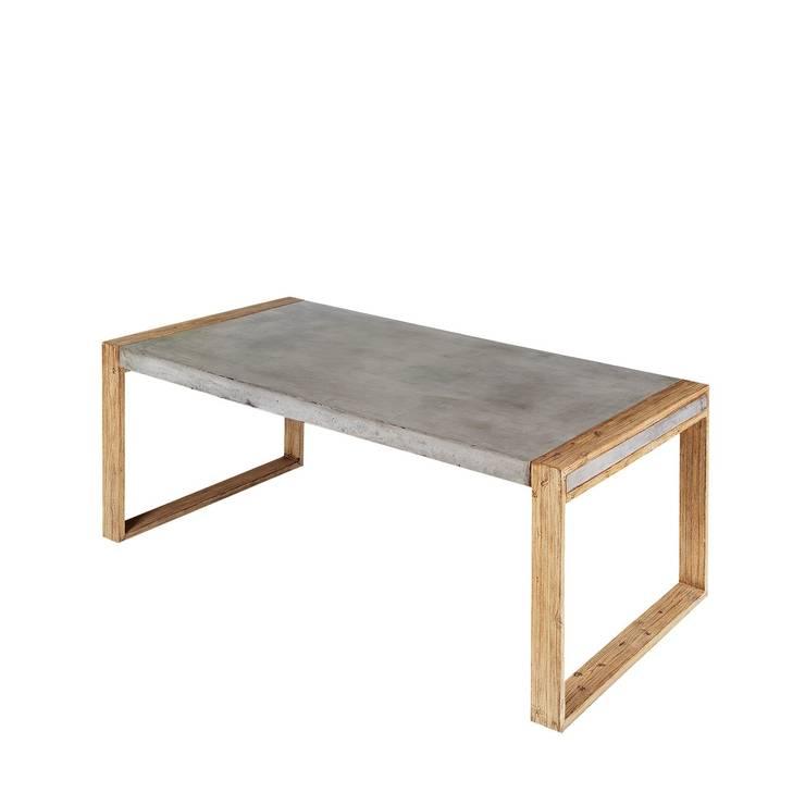 A'miou: Betonowy stół do jadalni Boa'rdy: styl , w kategorii Jadalnia zaprojektowany przez onemarket.pl