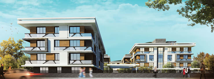 CCT INVESTMENTS – CCT 167 Project in yalova:  tarz Evler, Modern