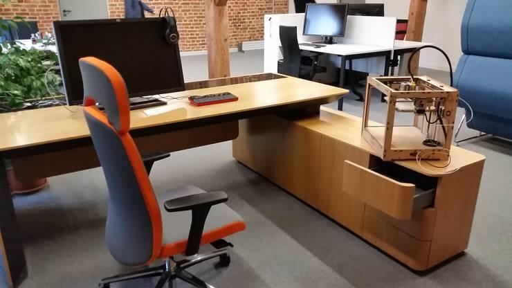 IT Loft Park Słodownia: styl , w kategorii Domy zaprojektowany przez ABC Pracownia Projektowa Bożena Nosiła,Industrialny