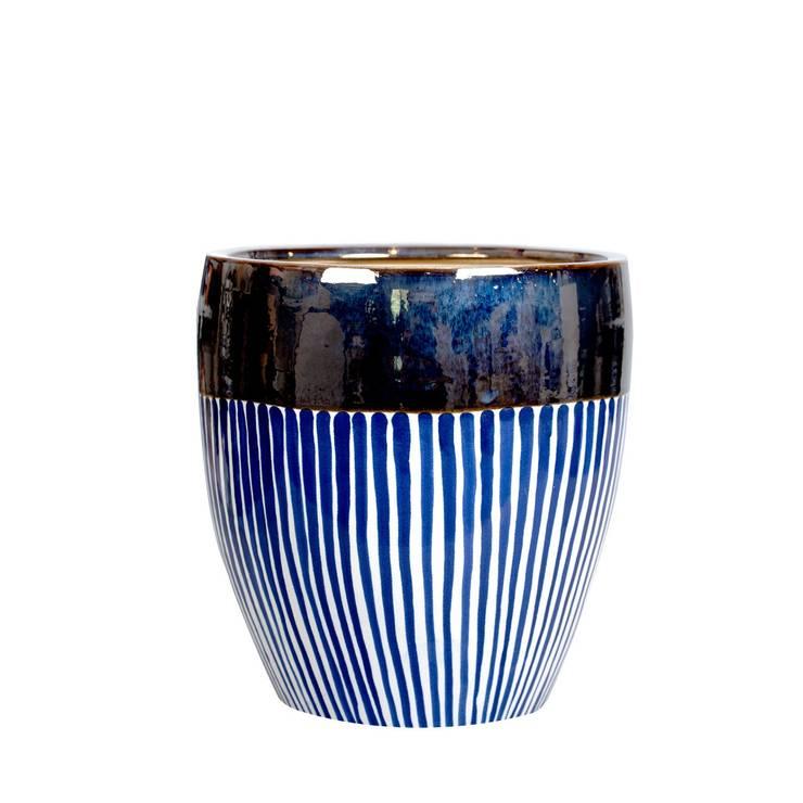 A'miou: Ceramiczna doniczka A'pp M: styl , w kategorii Sztuka zaprojektowany przez onemarket.pl