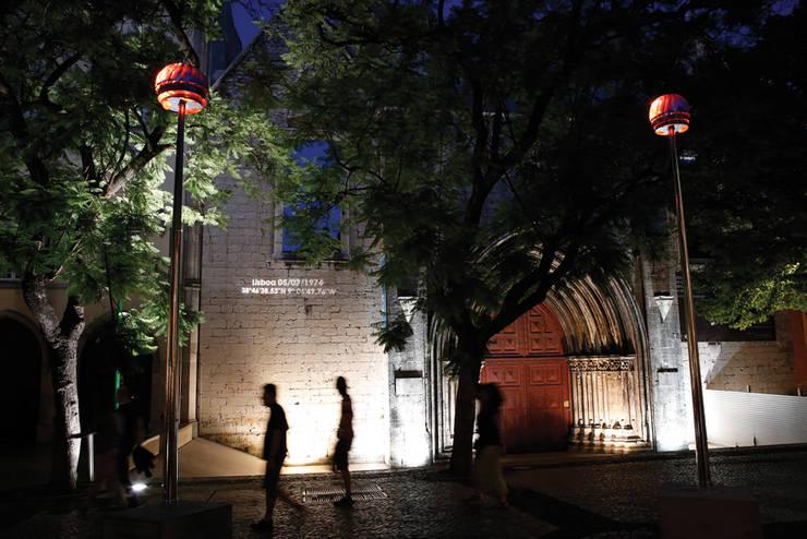 GiRÂNDOLA de Luz – Uma homenagem à Revolução: Locais de eventos  por Aura Light