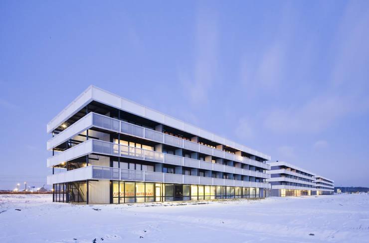 Casas  por JMW architecten, Minimalista Alumínio/Zinco