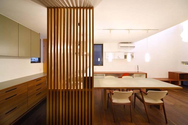 キッチン/ダイニング: 6th studio / 一級建築士事務所 スタジオロクが手掛けたキッチンです。