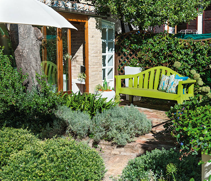 29 meravigliose idee per un giardino piccolo - Progetto giardino piccolo ...