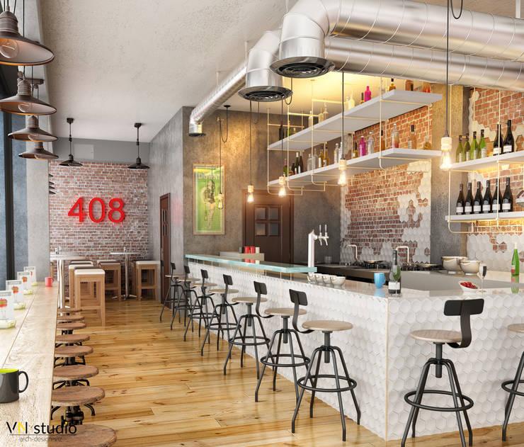VN Studio – Cafe 408:  tarz İç Dekorasyon
