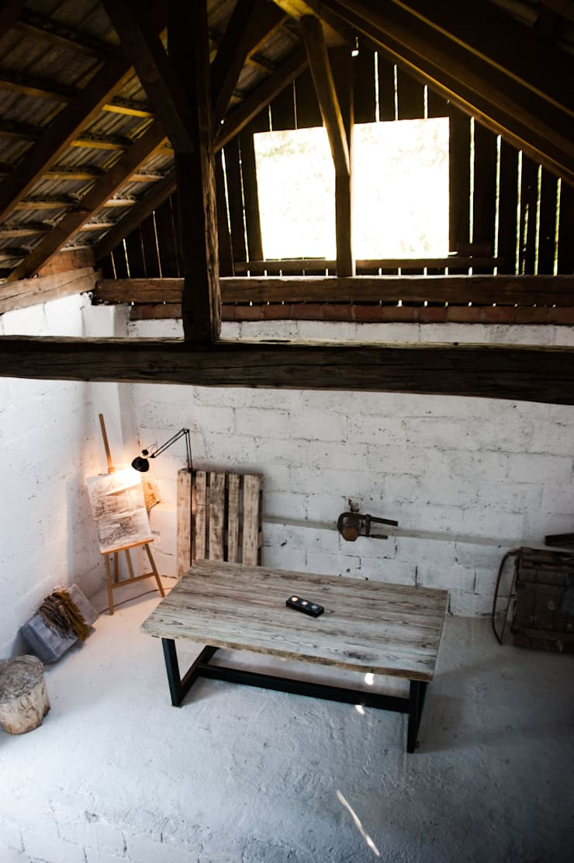 Stół LoftTable od Blaise: styl , w kategorii Pomieszczenia biurowe i magazynowe zaprojektowany przez Blaise Handmade Furniture