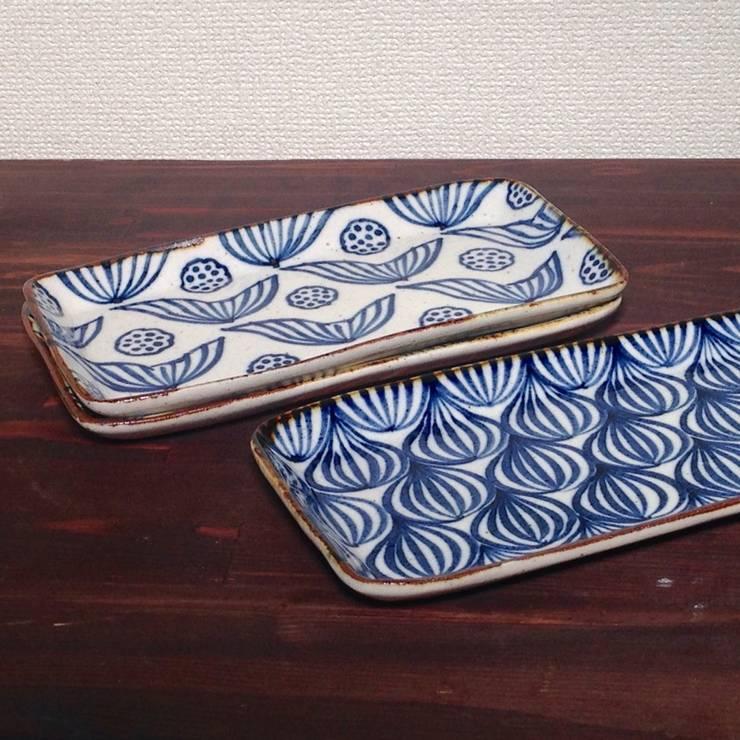 和にも洋にも合うシカク皿: キカキカクが手掛けたキッチンです。,