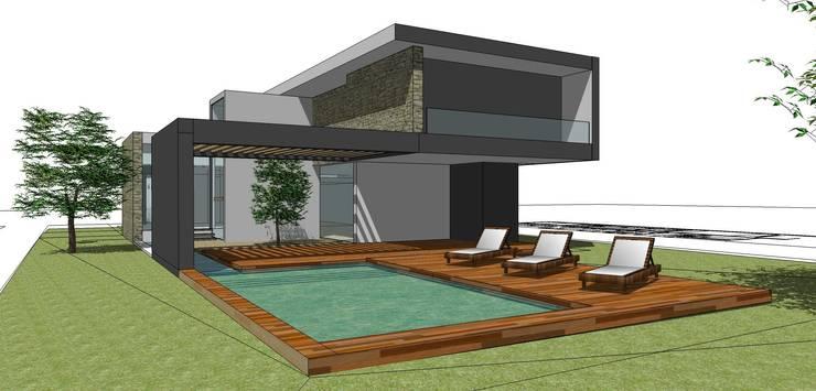 Vivienda La Morada. Villa Allende:  de estilo  por V+B Arquitectura