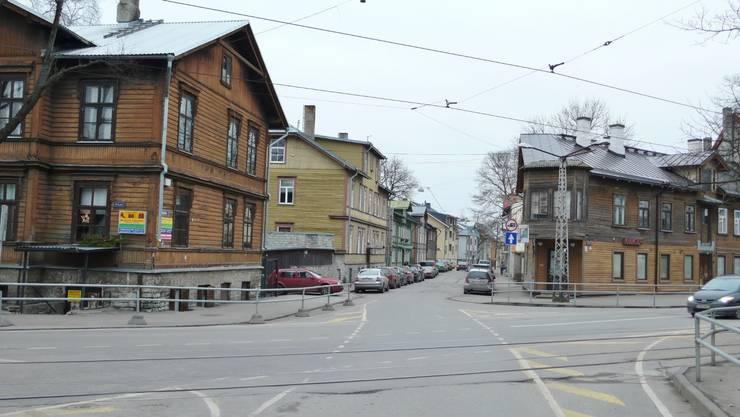 Дома в . Автор – Baltic Design Shop, Скандинавский Дерево Эффект древесины