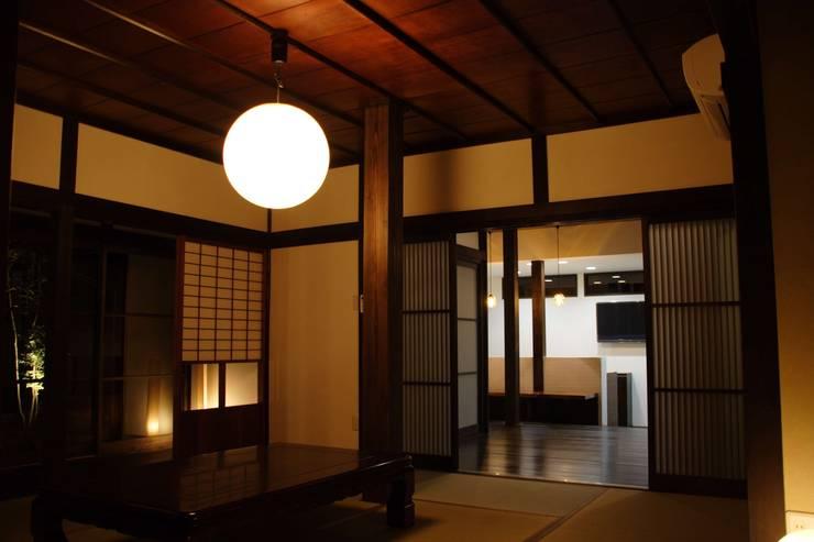 アフター(和室): 宮田建築設計室が手掛けたです。,