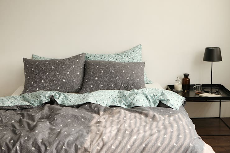 Bedding set (cotton)23 Rudolph: (주)이투컬렉션의  침실