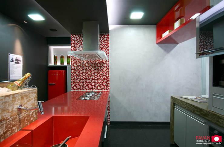 Projeto Arquiteto | Cozinha Gourmet: Cozinhas modernas por Pavan Fotografia | Marcus Vinicius Pavan