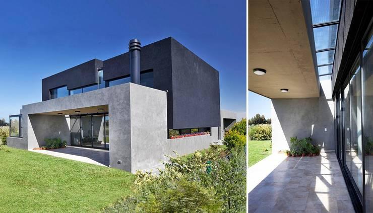 Casa JG: Casas de estilo  por Speziale Linares arquitectos