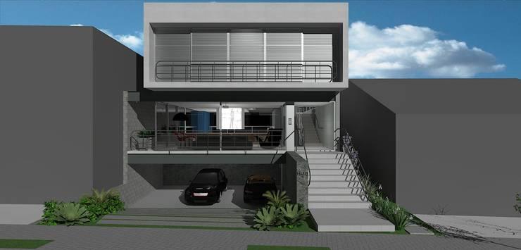casa brj: Casas  por grupo pr | arquitetura e design,Moderno