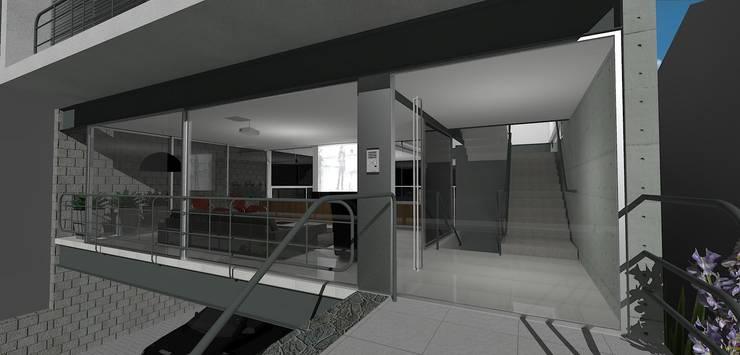 casa brj: Escritórios  por grupo pr | arquitetura e design,Moderno