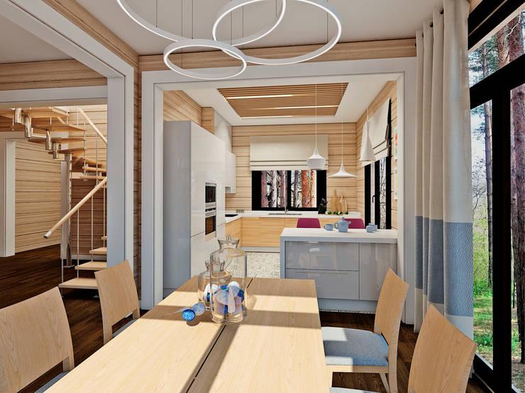 Salle à manger originale par Be In Art Éclectique
