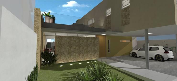 casa bs: Casas  por grupo pr | arquitetura e design