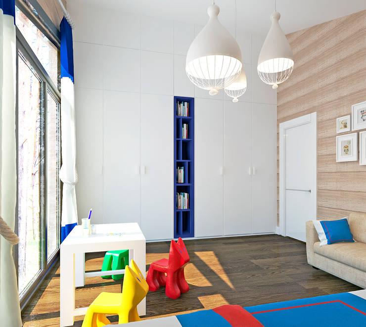 Chambre d'enfant originale par Be In Art Éclectique