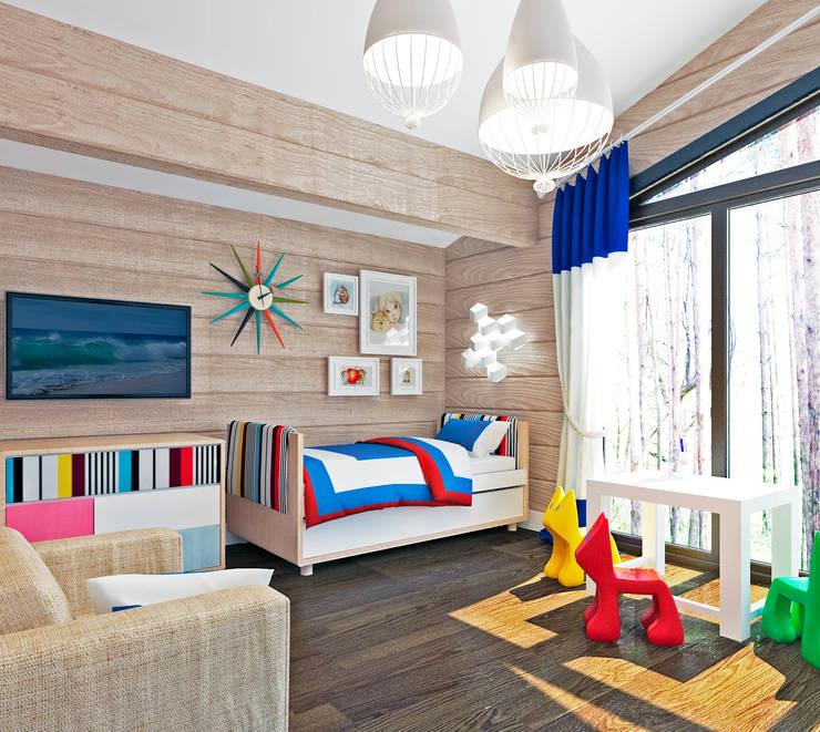 Dormitorios infantiles de estilo ecléctico de Be In Art Ecléctico
