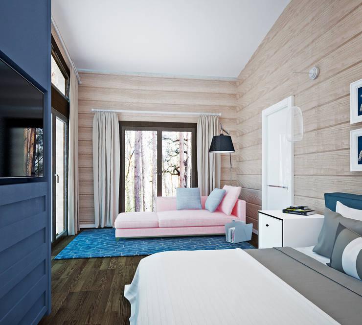 Dormitorios de estilo ecléctico de Be In Art Ecléctico