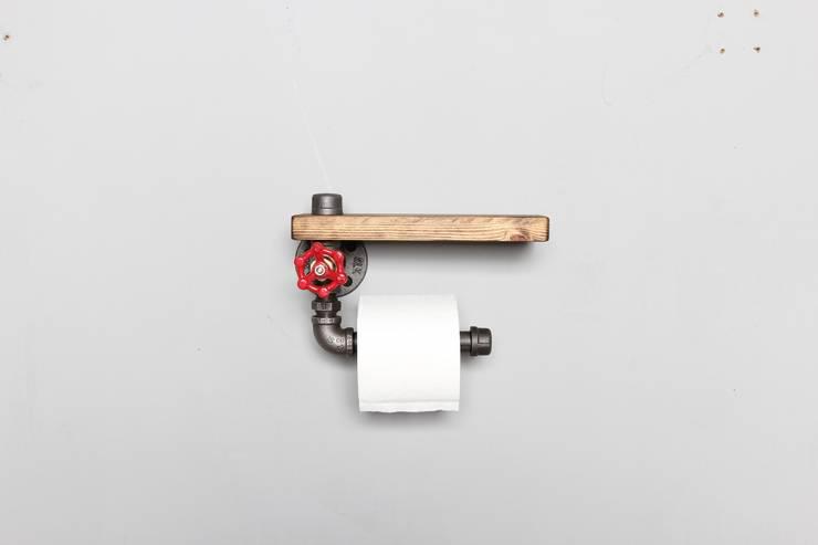 the pipe: endüstriyel tarz tarz Banyo