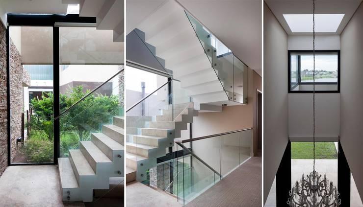 Pasillos y vestíbulos de estilo  por Speziale Linares arquitectos