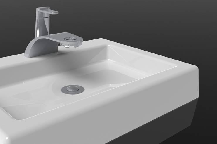E-Tap: Casa de banho  por Marcos Alves Design