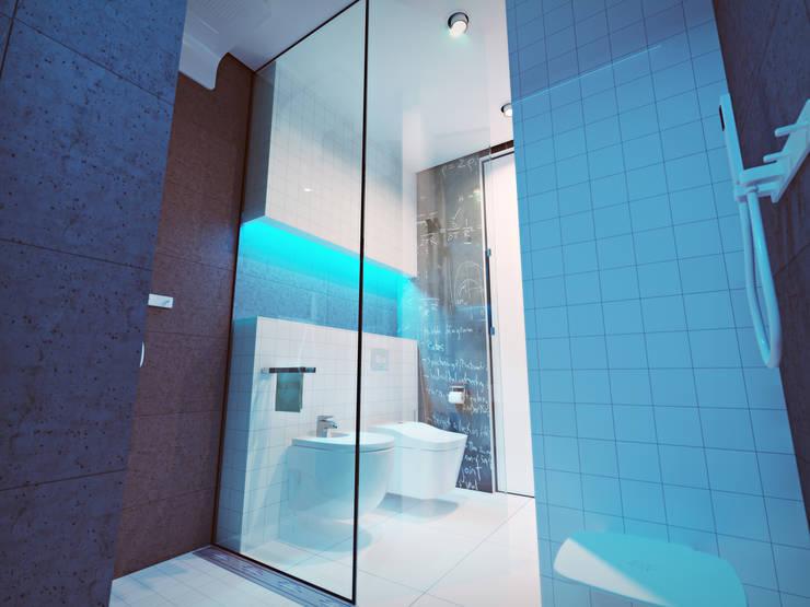 Ванные комнаты в . Автор – ONEDESIGN,