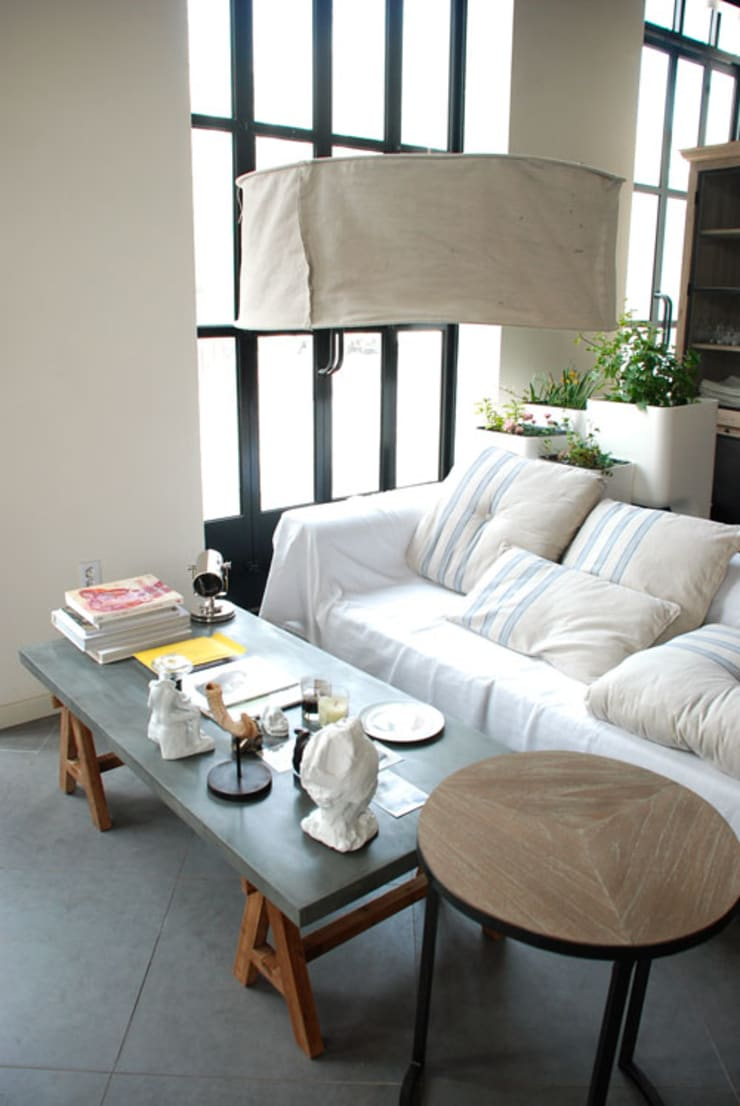 Living Idea : mon jardin et ma maison 의  거실