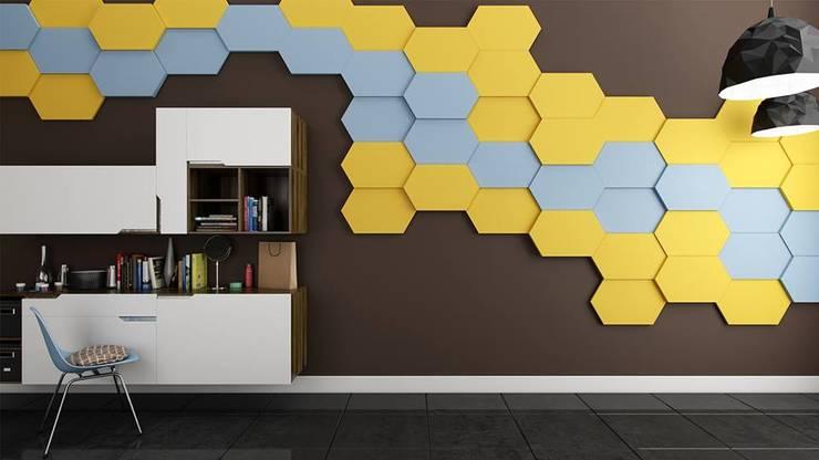 Panele Nike. : styl , w kategorii  zaprojektowany przez FLUFFO fabryka miękkich ścian