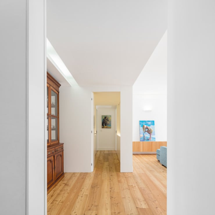 moderne Woonkamer door OW ARQUITECTOS lda | simplicity works