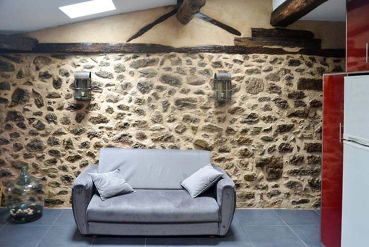 Living room by FIlipa Figueira Arquitectura