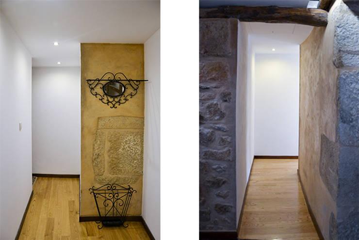 Circulação: Corredores e halls de entrada  por HAS - Hinterland Architecture Studio,Moderno