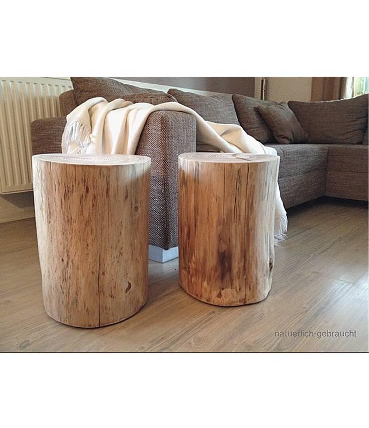 Beistelltisch Baumstamm Von Natuerlich Gebraucht Homify