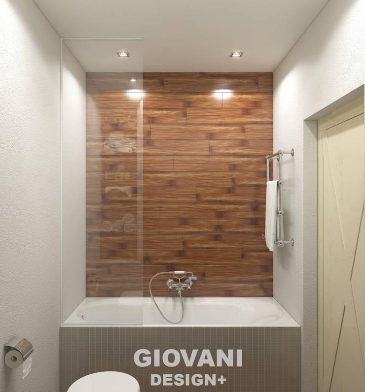 Scandinavian style bathroom by Giovani Design Studio Scandinavian