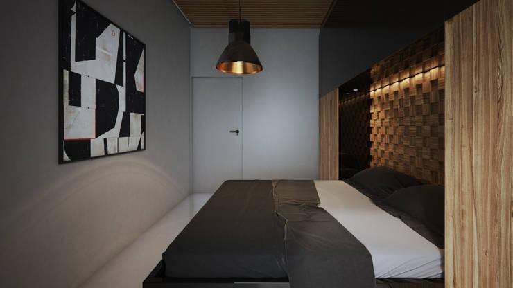 Slaapkamer door OFD architects