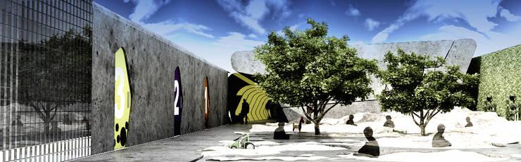 [ DGS ]   ESCUELA PRIMARIA: Casas de estilo  por DGS ARQUITECTOS,  S. A. DE  C. V.