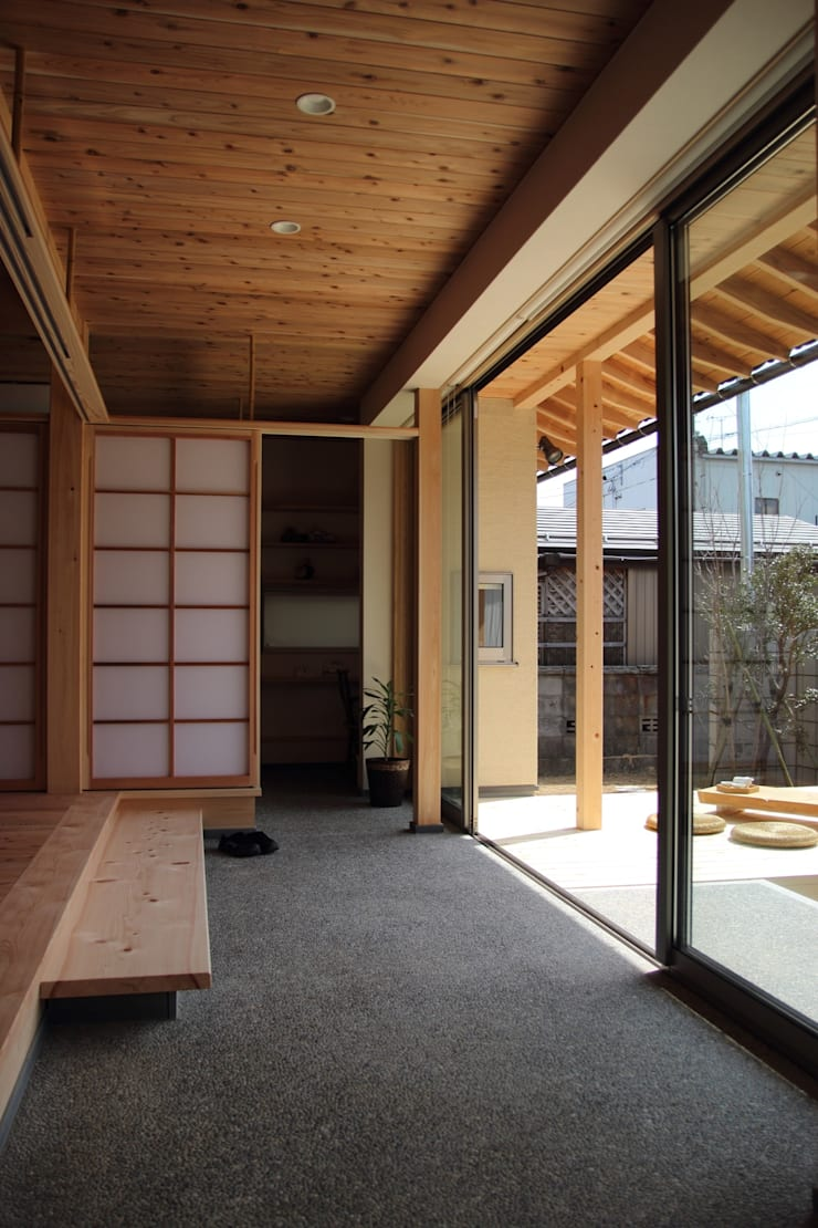 Patios & Decks by 尾脇央道(重川材木店), Asian