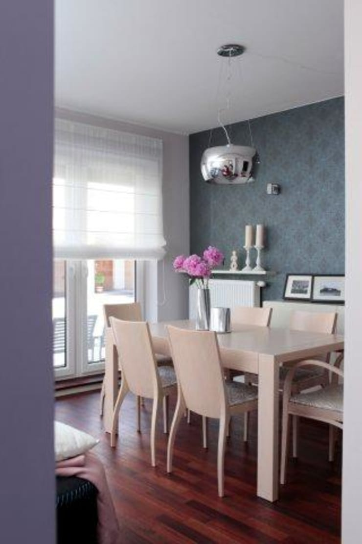 Dining room by ZIZI STUDIO Magdalena Latos, Eclectic