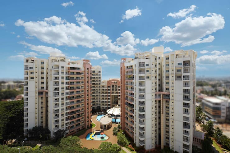 Residential: modern Houses by Prabu Shankar Photography
