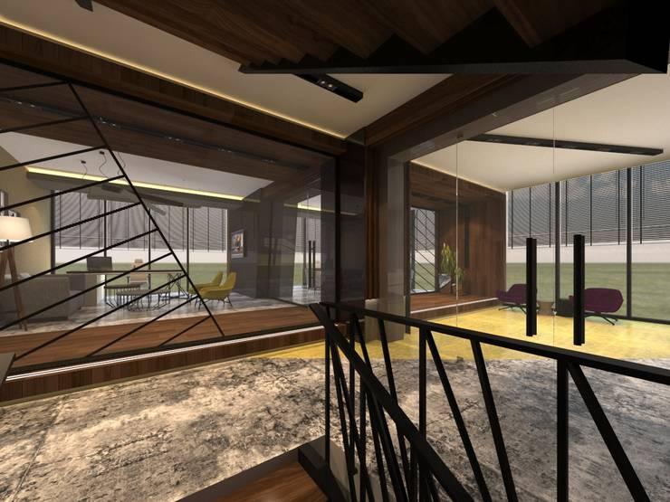 ARGE Dekor & İç Mimari – ÖZYAPIT MÜHENDİSLİK İDARİ BİNA: modern tarz , Modern