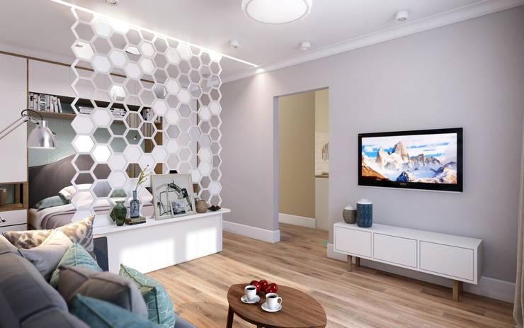 Salon scandinave par CO:interior Scandinave